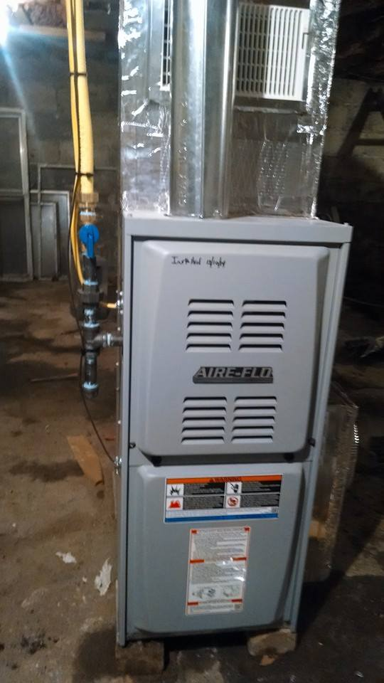 Hvac system updated for Gas home heating systems